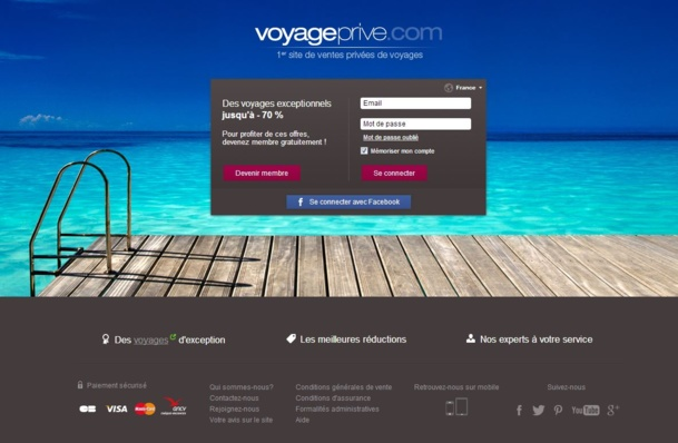 Un séjour haut de gamme sans se ruiner, c'est possible avec voyage-prive.com.