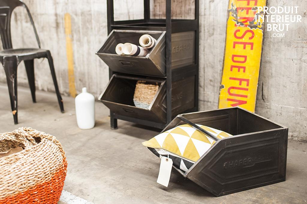 La déco loft ou le passage du meuble industriel au meuble de style industriel…