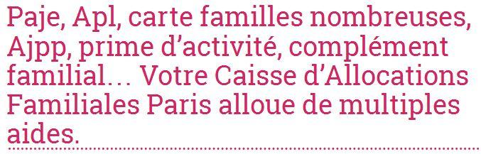 Allocations-info réunit toutes les antennes Caf implantées sur le territoire français